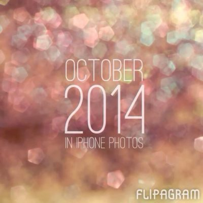 October 2014 in iPhone photos – a busy month!