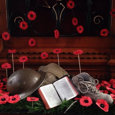 Remembrance Sunday at Seymour Street Methodist, Lisburn