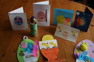 Easter Greetings from Giants Causeway and Toddler Craft