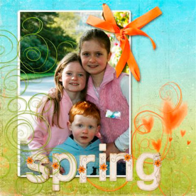 A Spring layout, lots of pics and more!