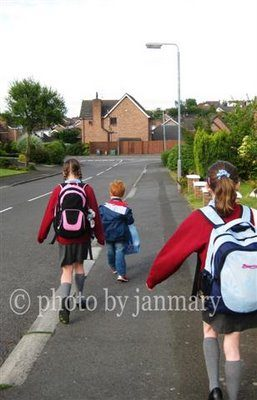 Walking to School – with link to printable game