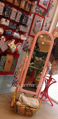 cath kidston shop in Belfast - full of vintage shabby chic pretty things - more on janmary.com