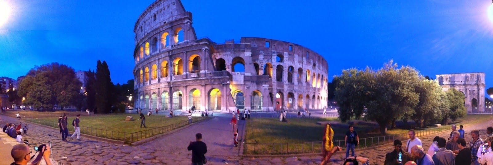Panoramic Photos From Rome Part 6 Of Our Roman Holiday