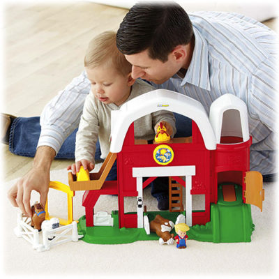 Featured Post – Fisher Price From Vintage to Modern Little People Playsets