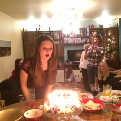 14 December – a 16th birthday party and a Christmas Ball