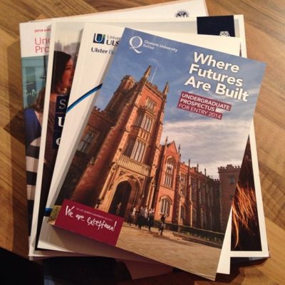 36/365 Another new chapter of parenting begins – our eldest daughter being home university prospectuses! Eeek!