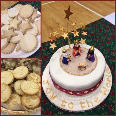 Wonderful carol service this evening followed by a delicious supper at Seymour St Methodist
