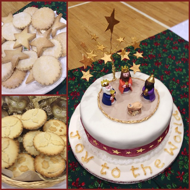 carol service this evening followed by a delicious supper at Seymour St Methodist