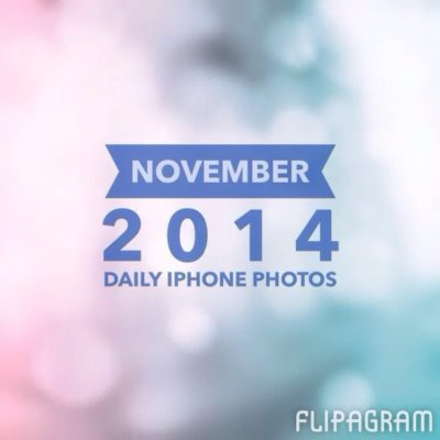 November in daily iPhone photos