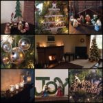 Christmas decor – our living room (and a few of my Christmas nativity scenes)
