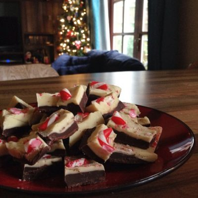 It's that time of the year …… for Christmas peppermint bark
