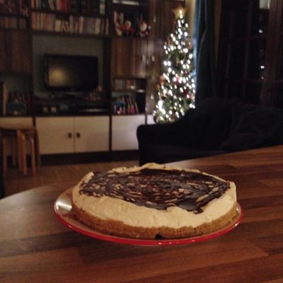 After-Eight Cheesecake – yum!