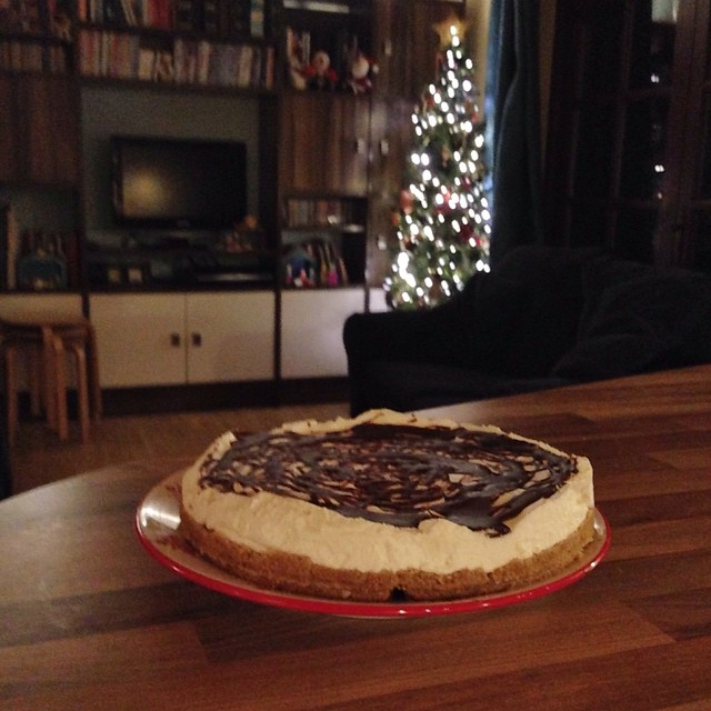 After-Eight Cheesecake - yum!