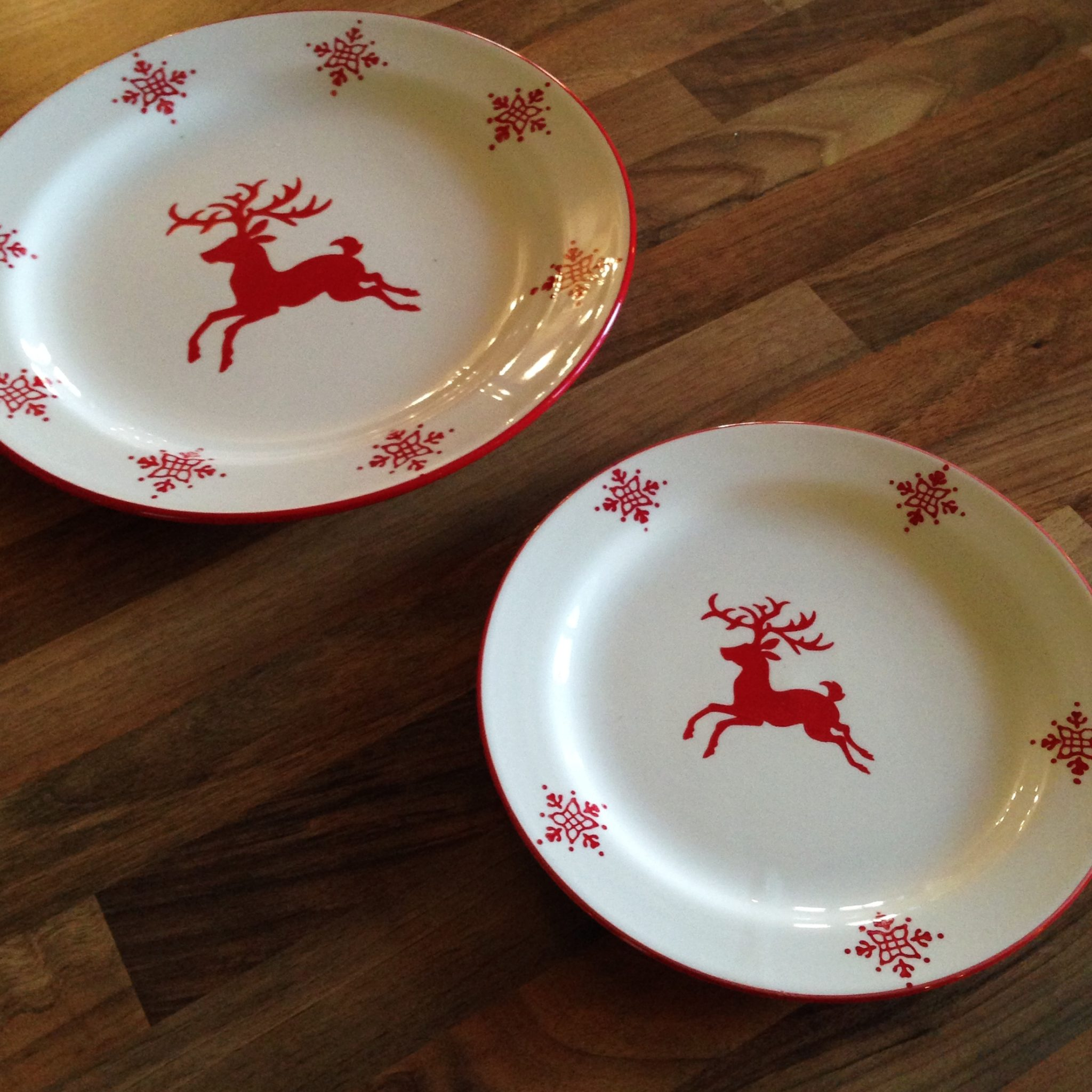 Christmas Plates U2026 Is It Possible I May Have Too Many