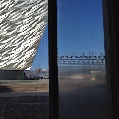 Another view from the Titanic drawing offices – part of the Legends of the North tour with Colin our guide #legendsofthenorth