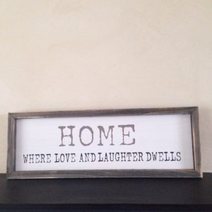 decorating with quotes signs on janmary.com