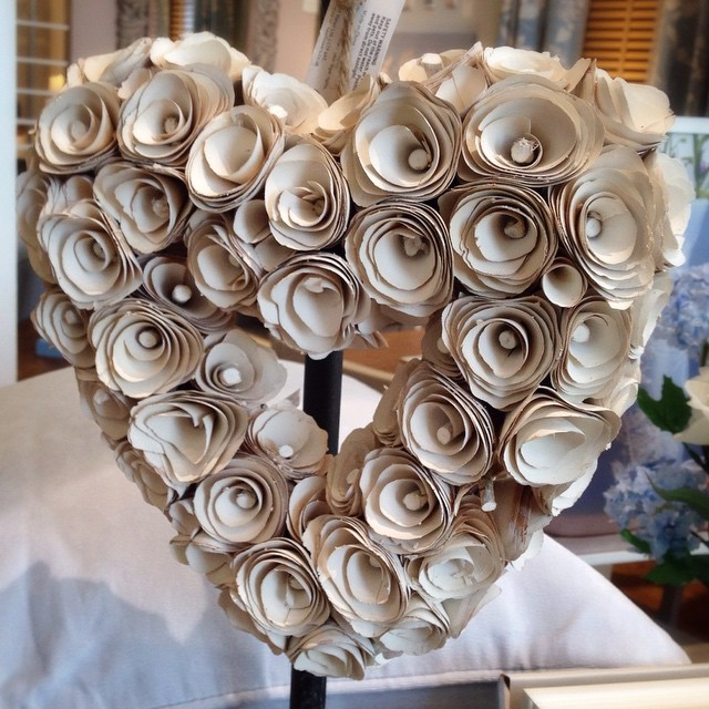 Loved this wood rose heart in Next today .... haven't bought it ....yet!