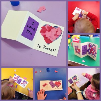 Lovely Valentine's Day craft at Seymour St Toddlers today