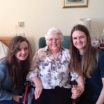 My mum and my daughters on her 82nd birthday