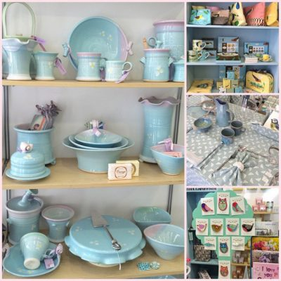 Delivering Janmary Designs jewellery to Blue Beans gift shop in Castlewellan today – full of all things lovely!