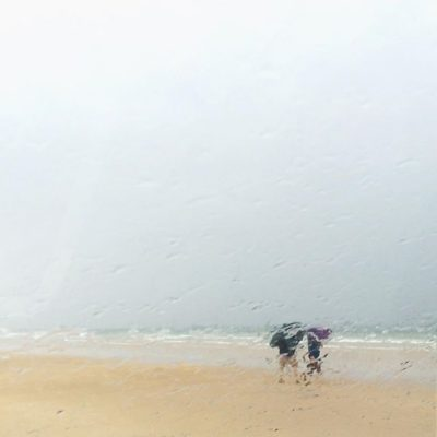 More typical Northern Ireland summer weather – Portstewart Strand