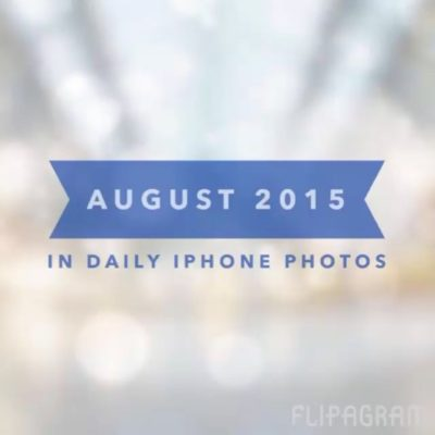 My daily iPhone photos for August 2015