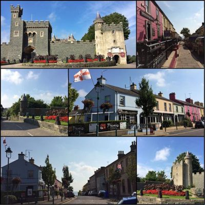 """Felt like singing Van Morrison's Coney Island as I drove down to lovely Killyleagh to deliver Janmary Designs jewellery""""Drove through Shrigley taking picturesAnd on to Killyleagh….On and on, over the hill ……Autumn sunshine, magnificentAnd all shining through"""""""