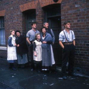 Catherine Cookson's The Fifteen Streets - Picture shows: The O'Brien's