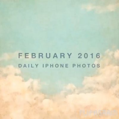 My daily iPhone photos in February 2016