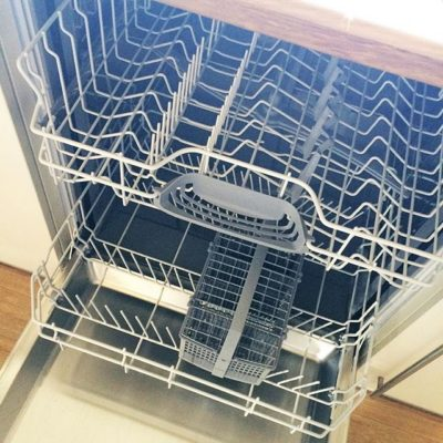 Happiness is …. a replacement functioning dishwasher!