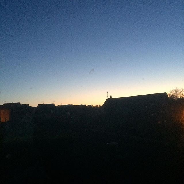 4am - getting light - too early to be awake