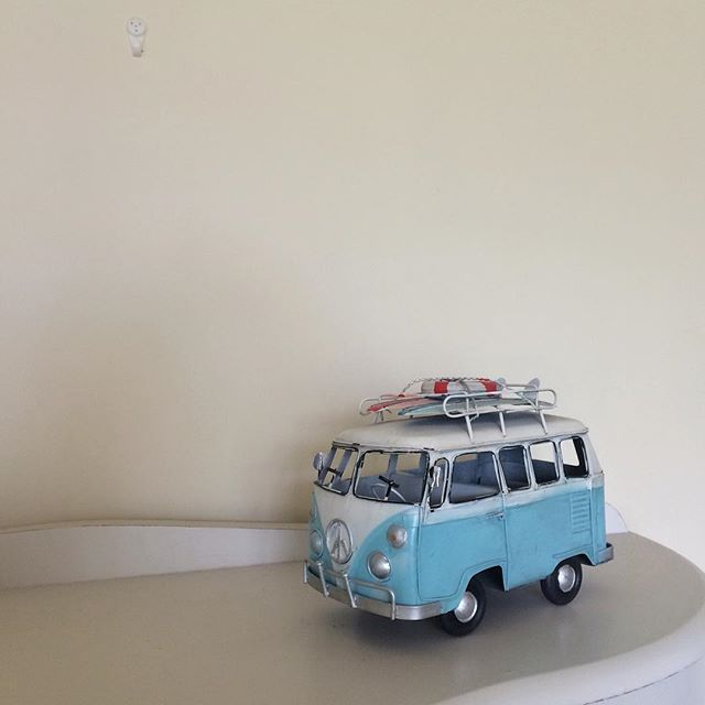 Carry on camping? Love a VW camper-van!