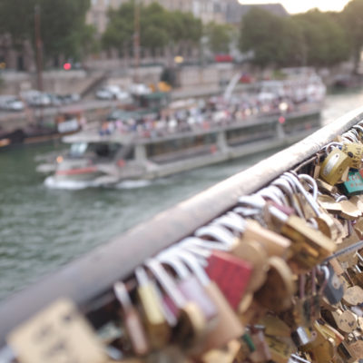 Paris – an evening at Notre-Dame, the Seine and the Love Locks