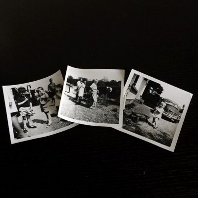 Love old family photos – I'm in one on the left!