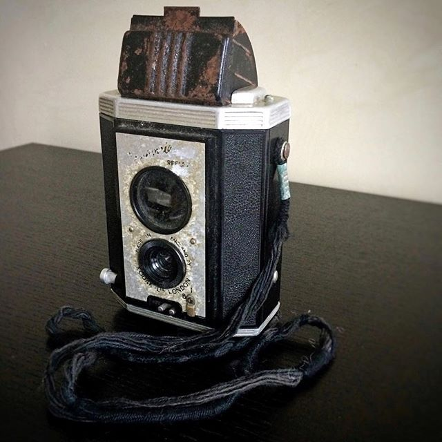 Found my Dad's first camera - a Kodak Brownie Reflex TLR camera - he bought it for the Festival of Britain in London in 1951