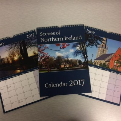 Lovely Northern Ireland Calendar by Staple Stationery perfect Christmas gift
