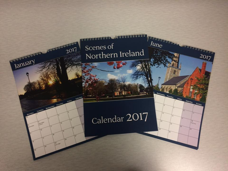 Staple Stationery N Ireland calendar