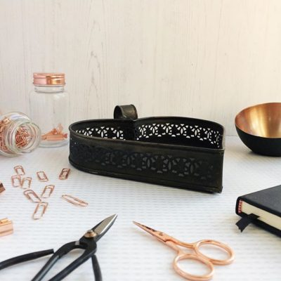 Black and rose gold – perfect combination