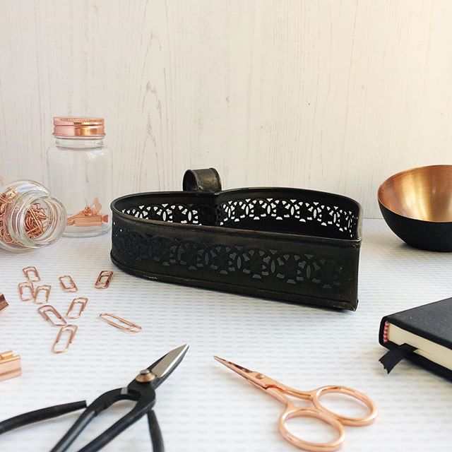 Black and rose gold - perfect combination