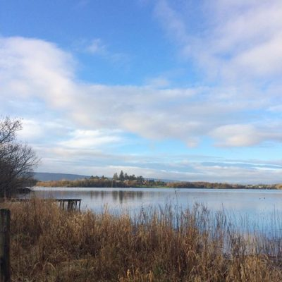 Good morning from Finn Lough, Fermanagh