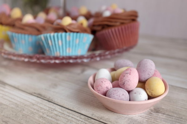 easter chocolate cupcakes janmary blog