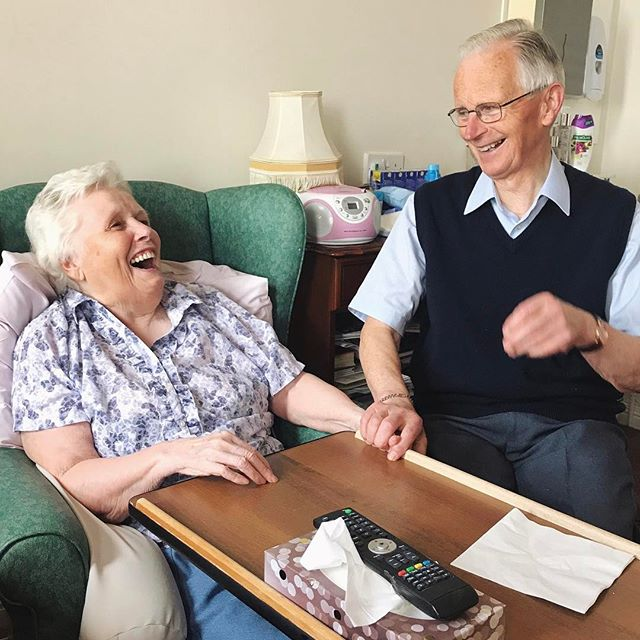 Mum and Dad.... still laughing together after all these years