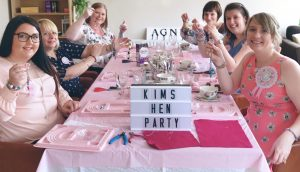 janmary designs hen party northern ireland