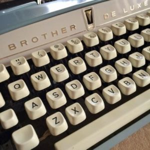 janmary typewriter blog