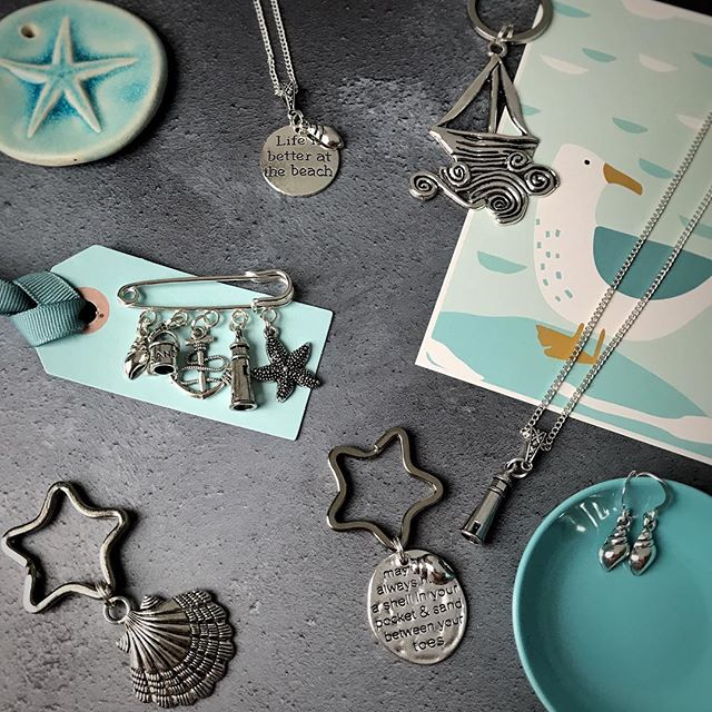 Life is better at the beach....selection of coastal themed collection by Janmary Designs