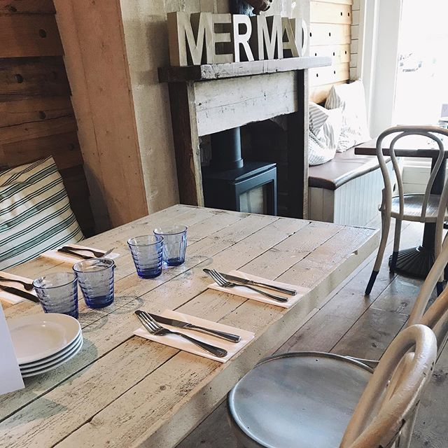 Lovely lunch at The Mermaid