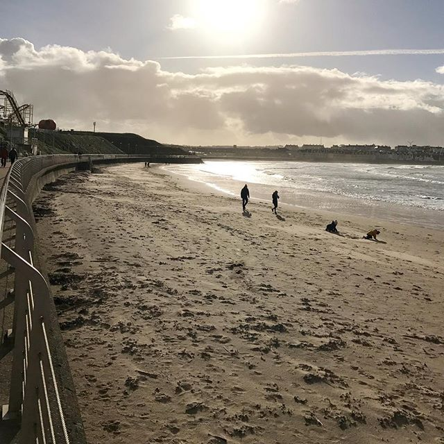 Just home from the north coast....West Strand Portrush