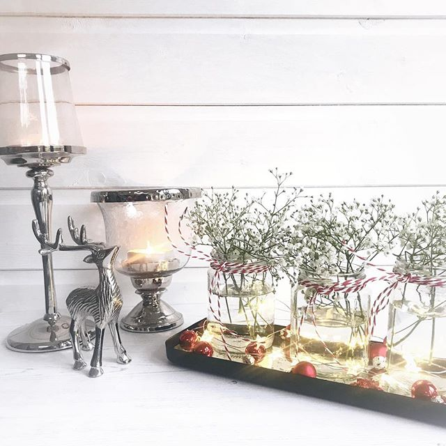 Warm candles and flowers in jam jars..... taking a moment amidst the busy-ness of Christmas