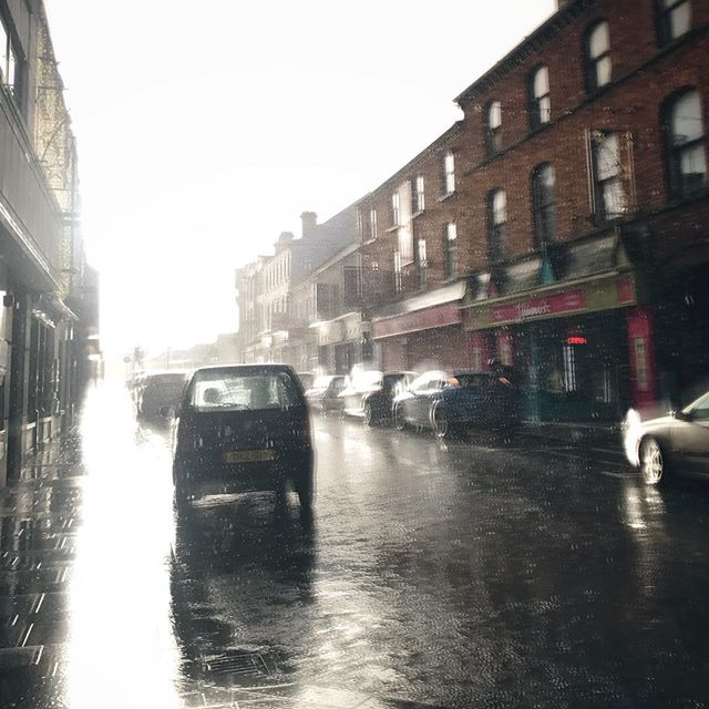 Sun, showers and sale shopping in Ballymena today