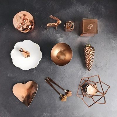 A copper toned collection on a very grey day